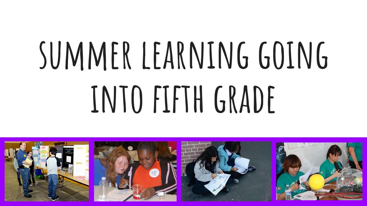 into 5th grade summer