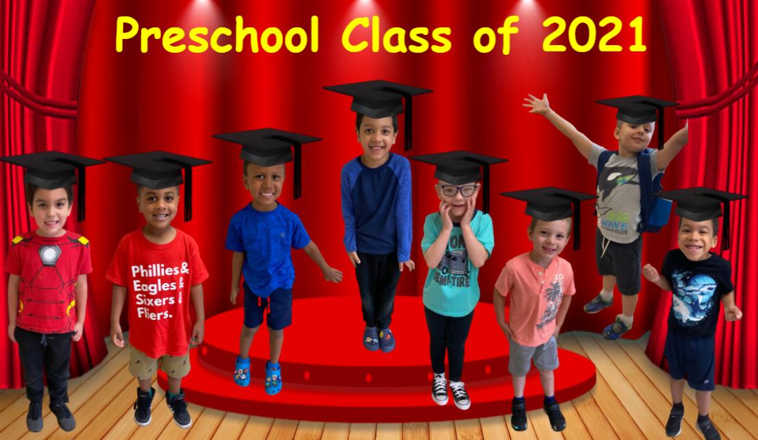 PreK Class of 2021