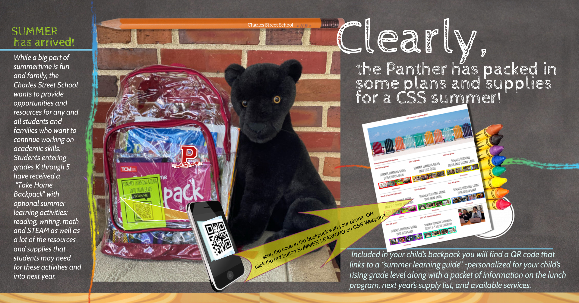 css summer learning