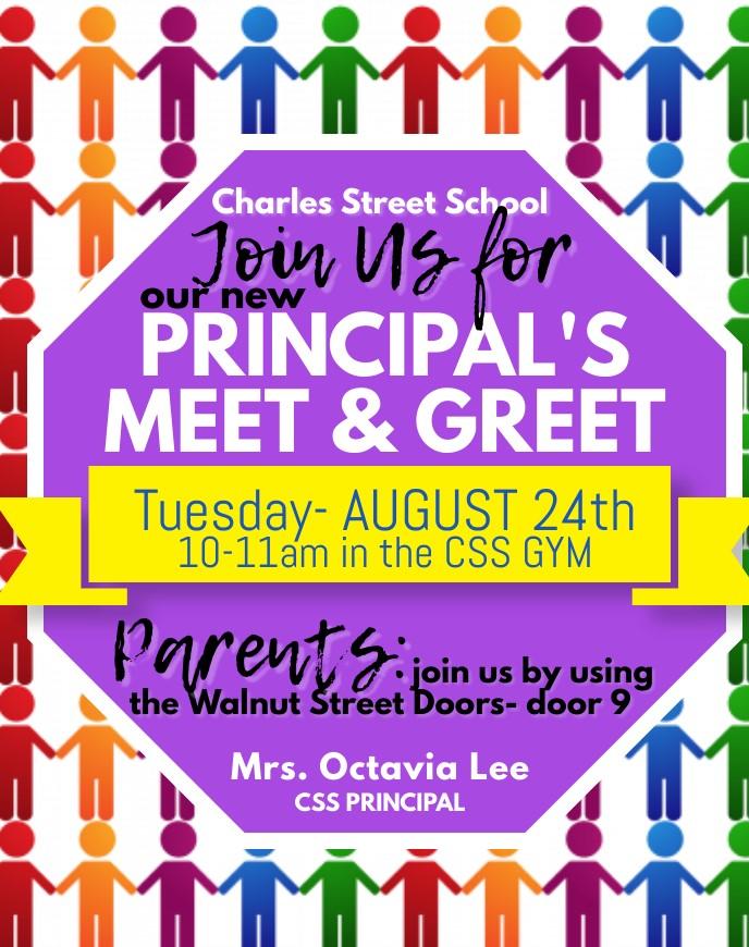 Principal's Meet & Greet