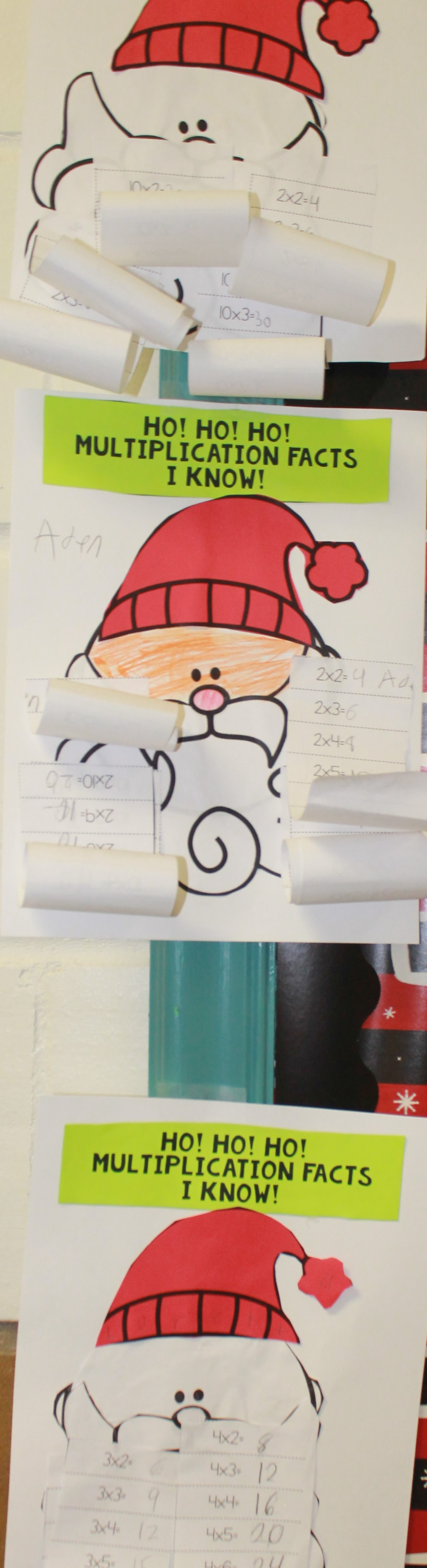 4th Grade Santas