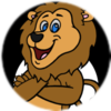 An animated lion