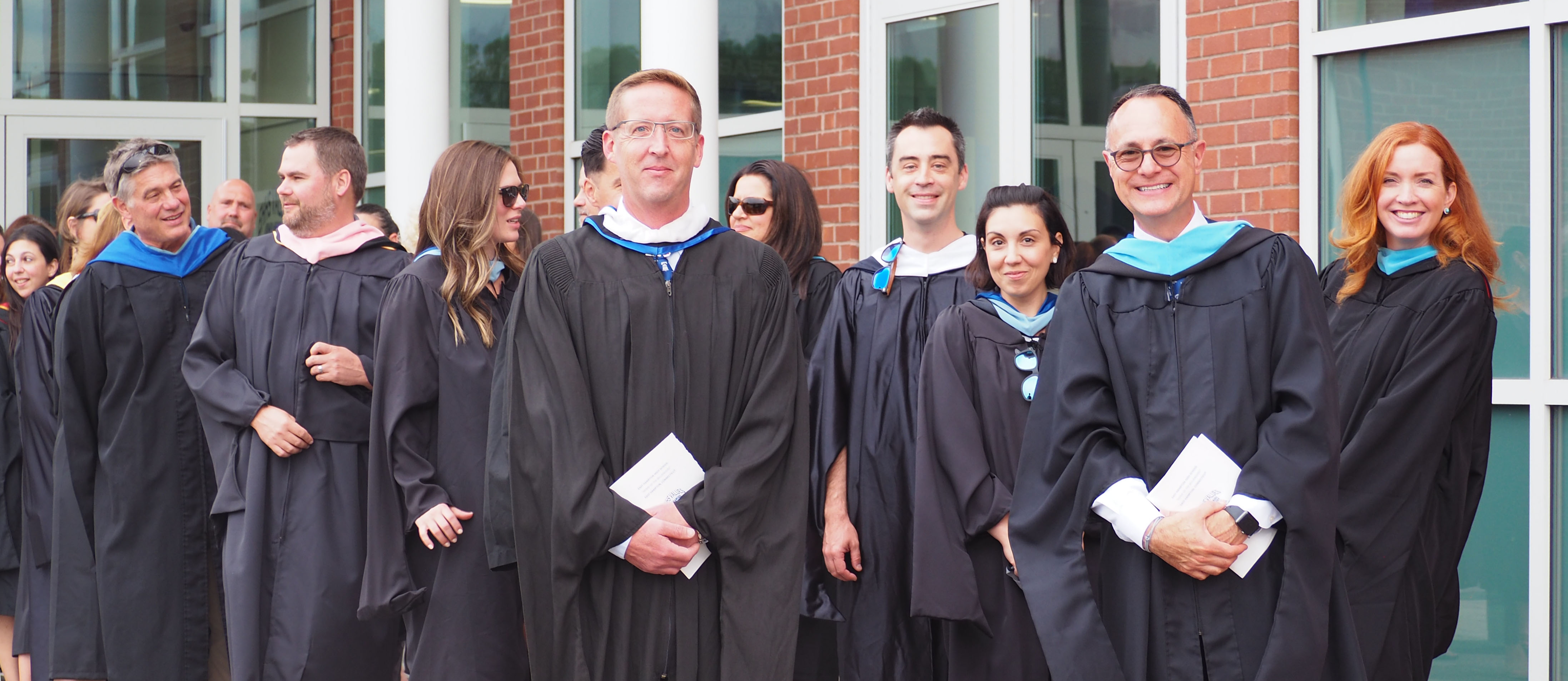 Factulty and Administrators priof to Graduation 2021 Processional