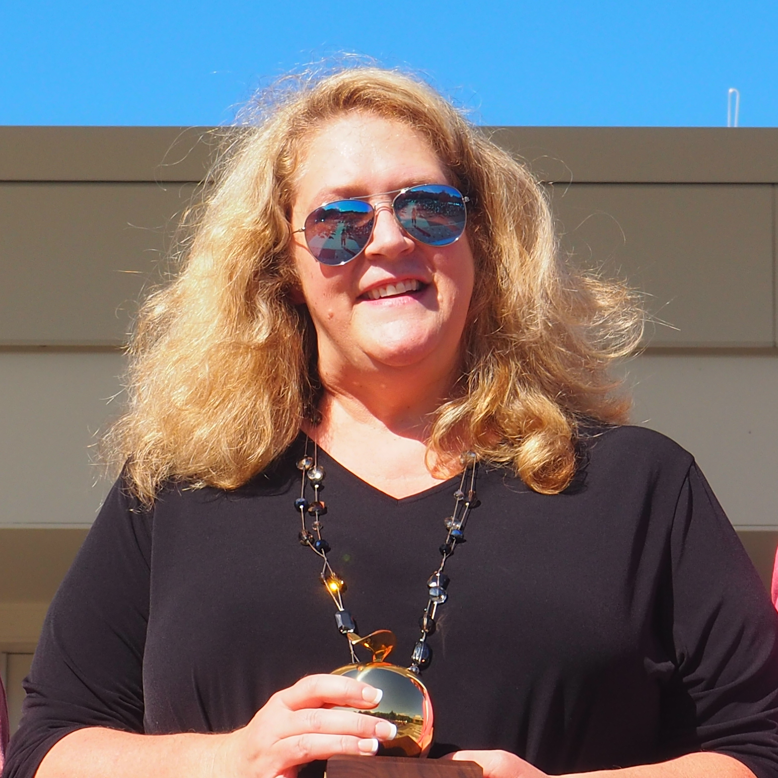 Teacher of the Year Heather Vigue
