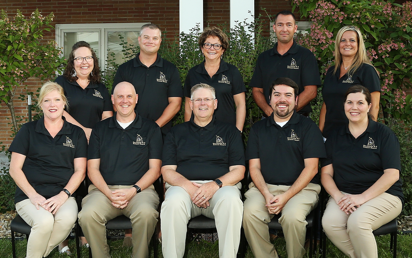 Group Picture of Board of Education
