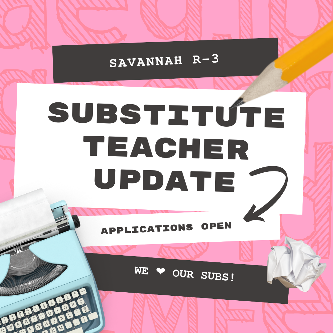 Substitute Teacher Update