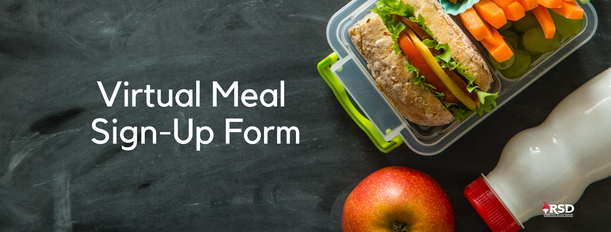 VIRTUAL MEAL SIGN-UP FORM