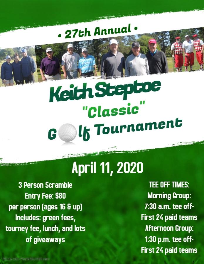 "Keith Steptoe ""Classic"" Golf Tournament"