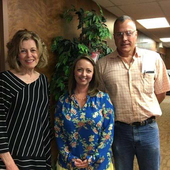 New Board Members: Twink Ross, Gina Sue Bradley, and Bobby Ritter