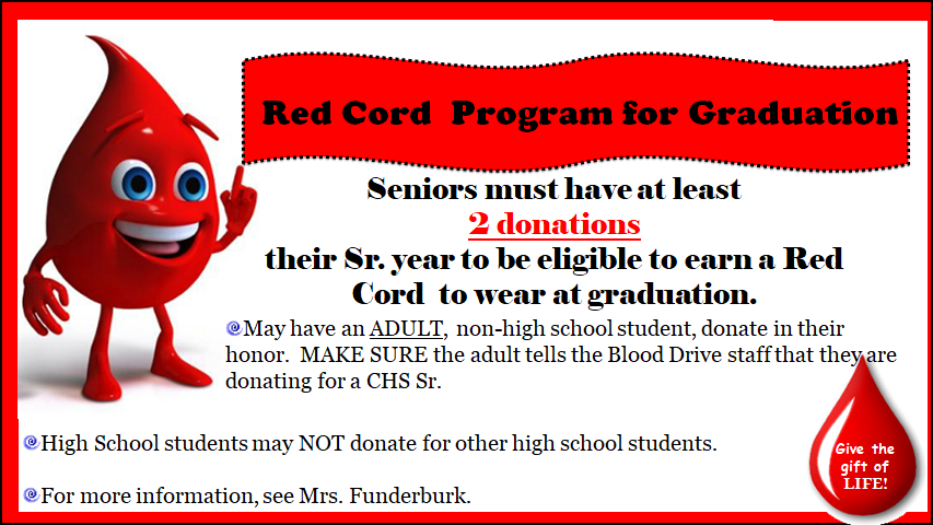 Red Cord Program for Graduation