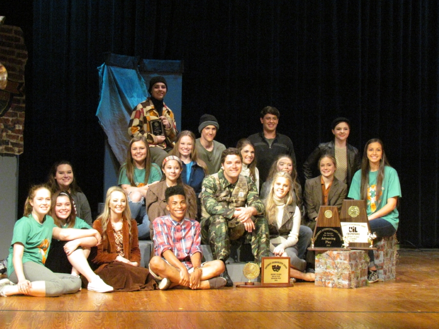 Carthage Drama Dawgs advanced from District to Bi-District to Area to Region in 2015.