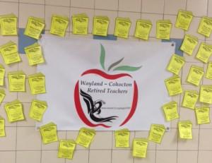 WAYLAND - COHOETON RETIRED TEACHERS POSTER