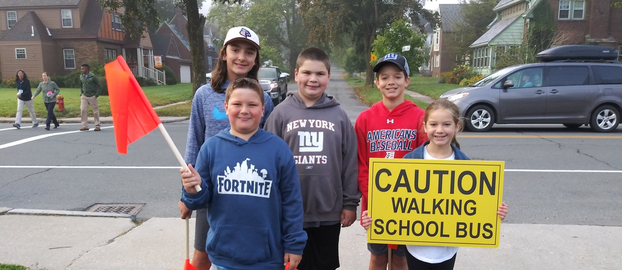 BES Walk to School Day