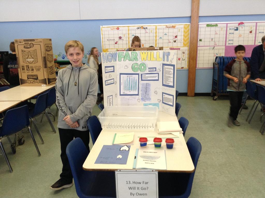 Grade 6 Science Fair