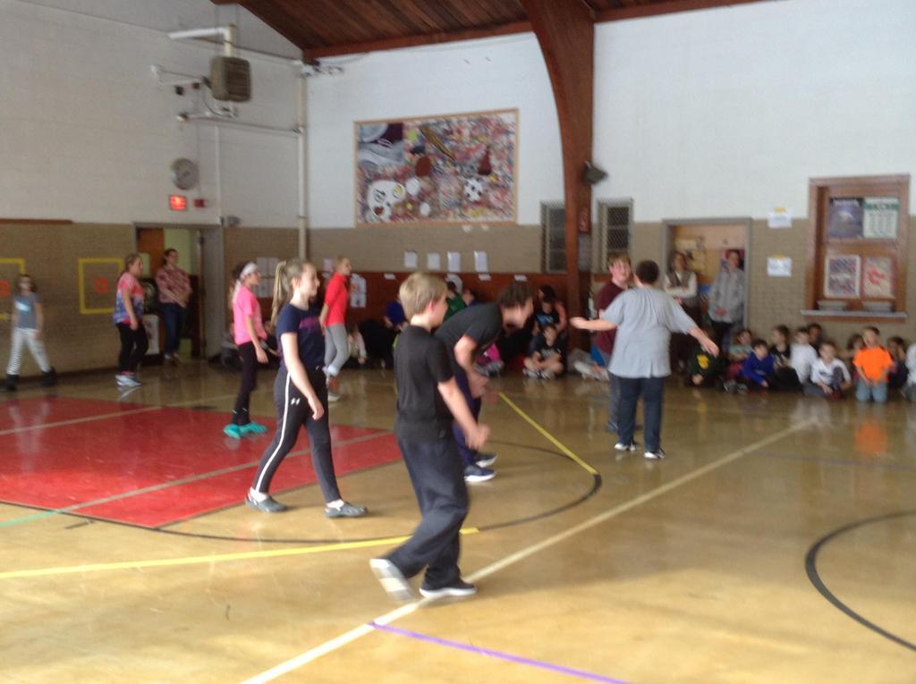 Nitro Ball -- Students versus the staff