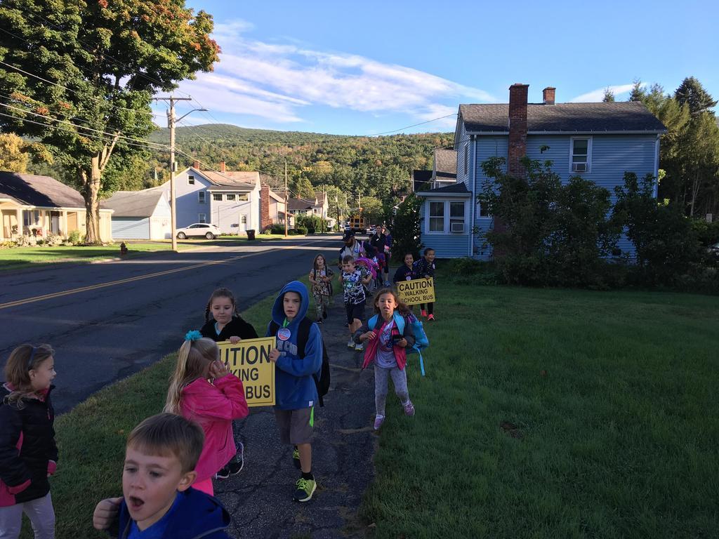 Walk To School --September 27, 2018
