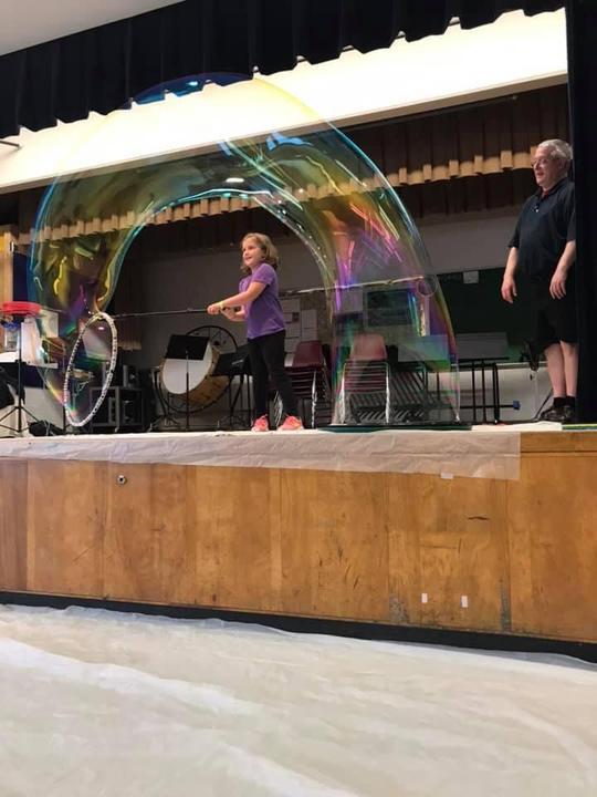 Bubble Show 6/11/19