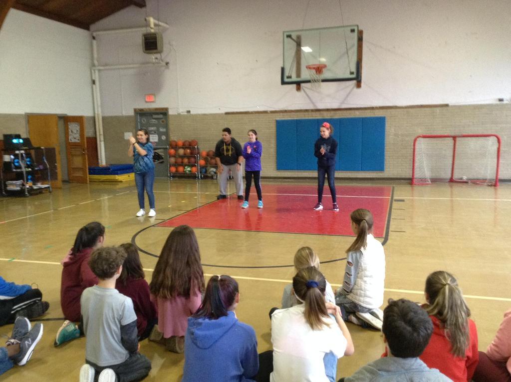 Grade 6 and the Sankofa Dance Team of Williams College