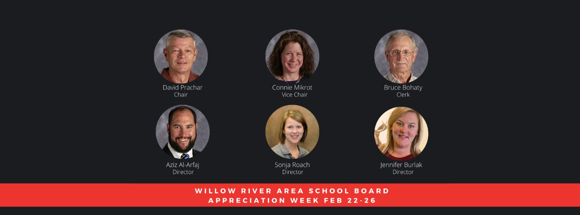 School Board Appreciation Week graphic