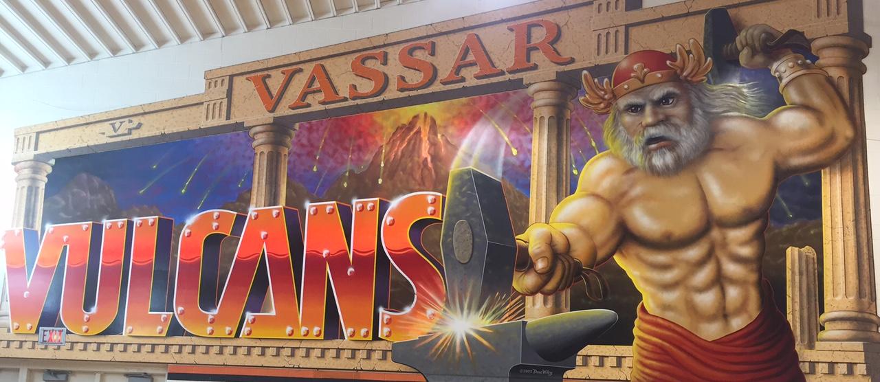 Vassar Vulcans Mural