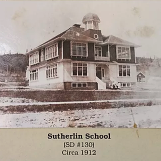 Photo of Sutherlin School.