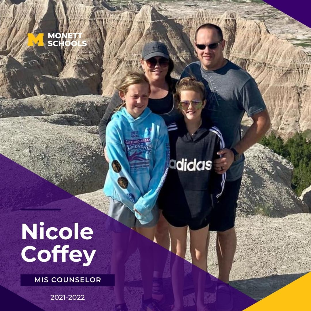 Feature Friday is Mrs. Nicole Coffey, MIS Counselor