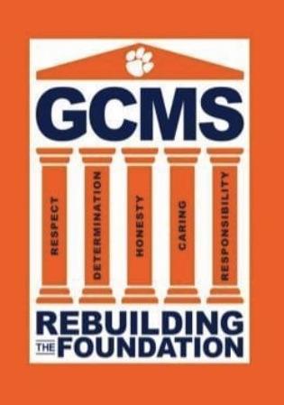 GCMS Rebuilding the Foundation graphic decorative