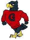 Geneva High School Logo - Eagle