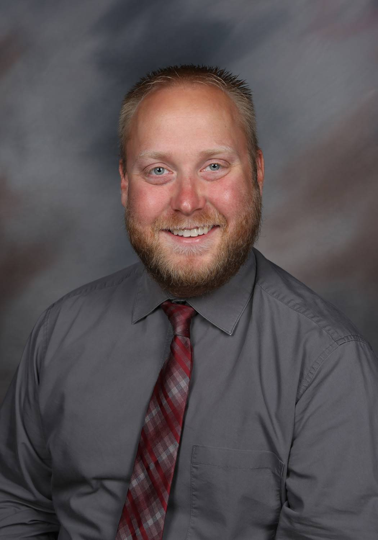 Photo of Mr. Anderson, GMS Principal.