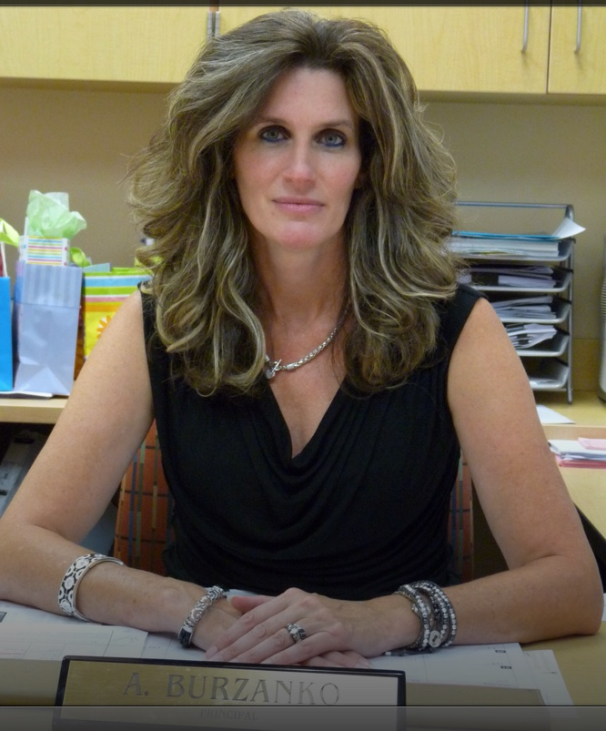 Photo of Amy Burzanko, Principal.