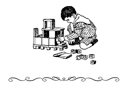Image of a kid playing.