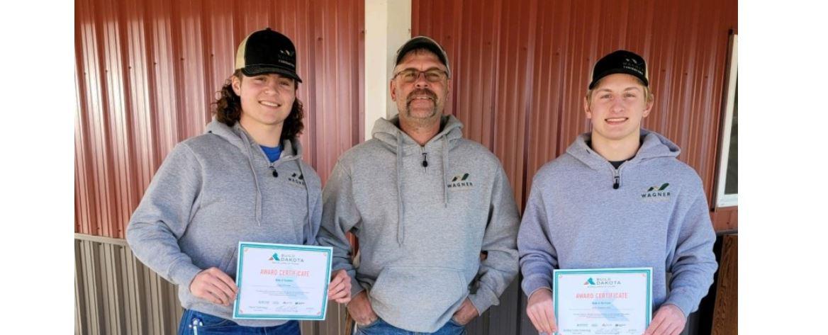 students receive scholarship