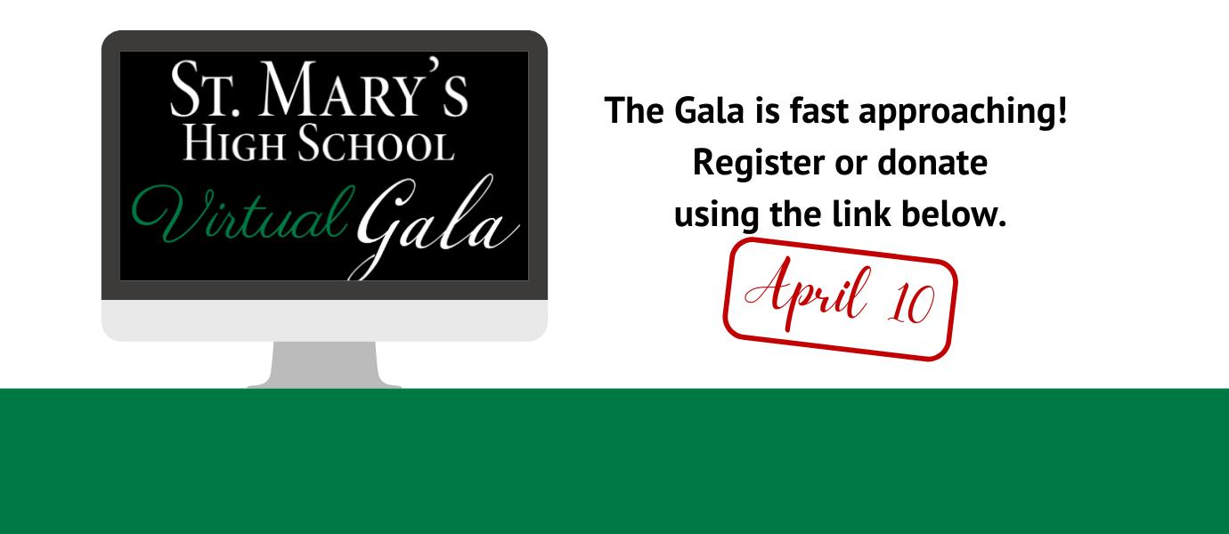 computer screen with Gala logo