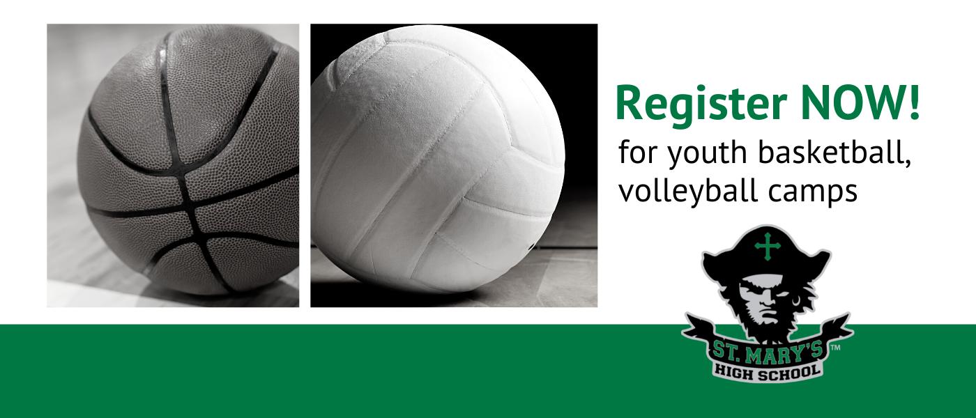 basketball, volleyball