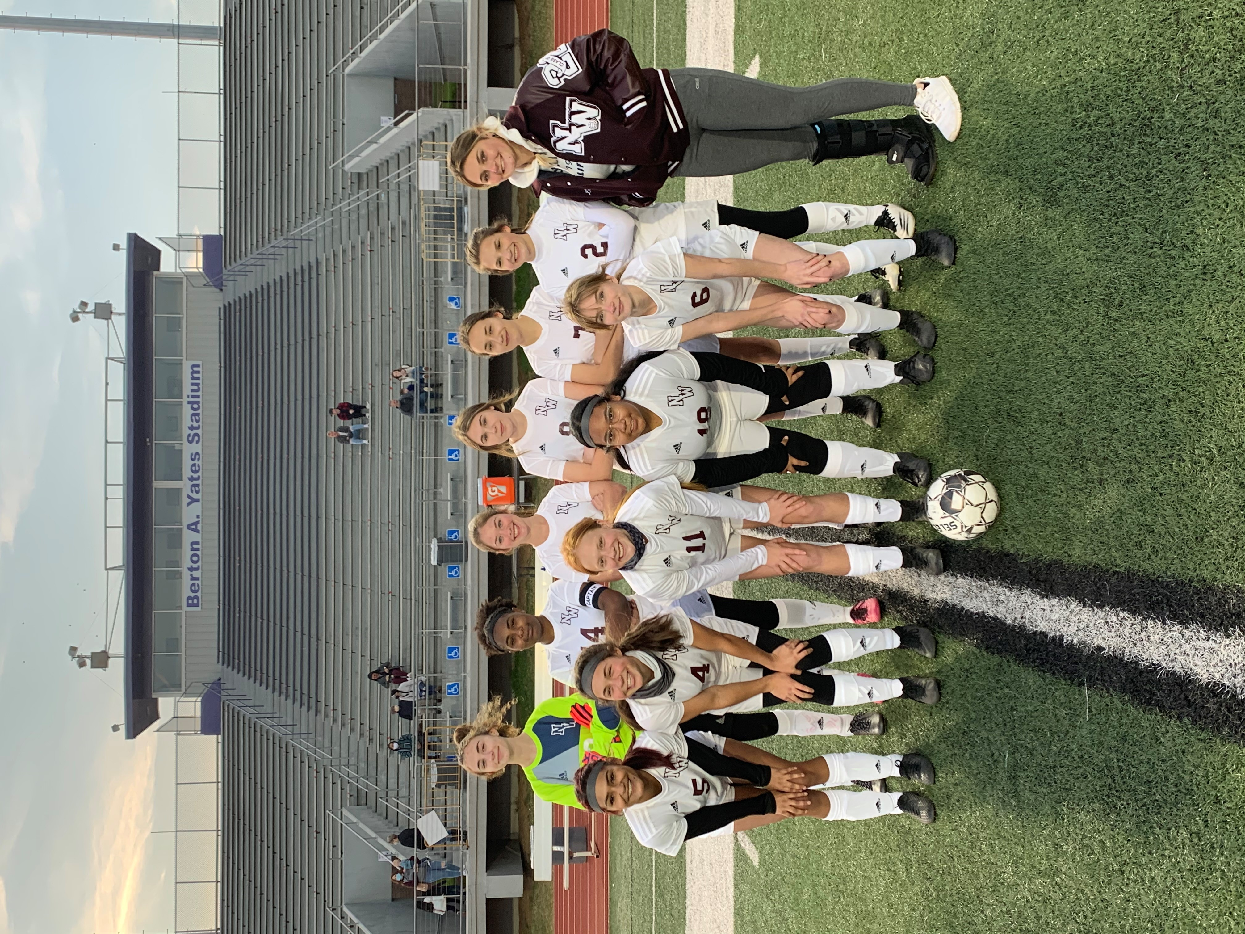 2020-2021 Girls Soccer Team