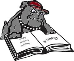 bulldog-read-book