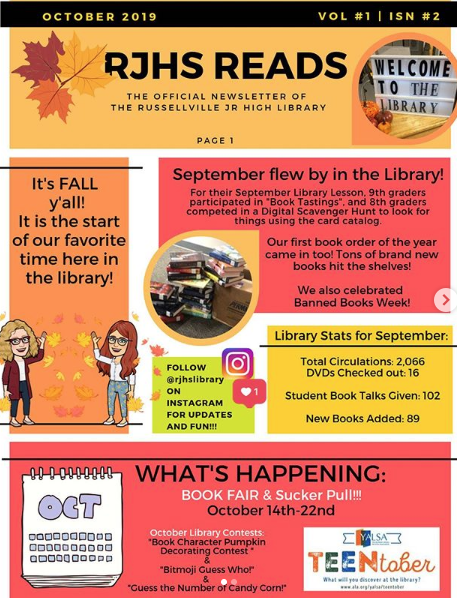 RJHS Reads