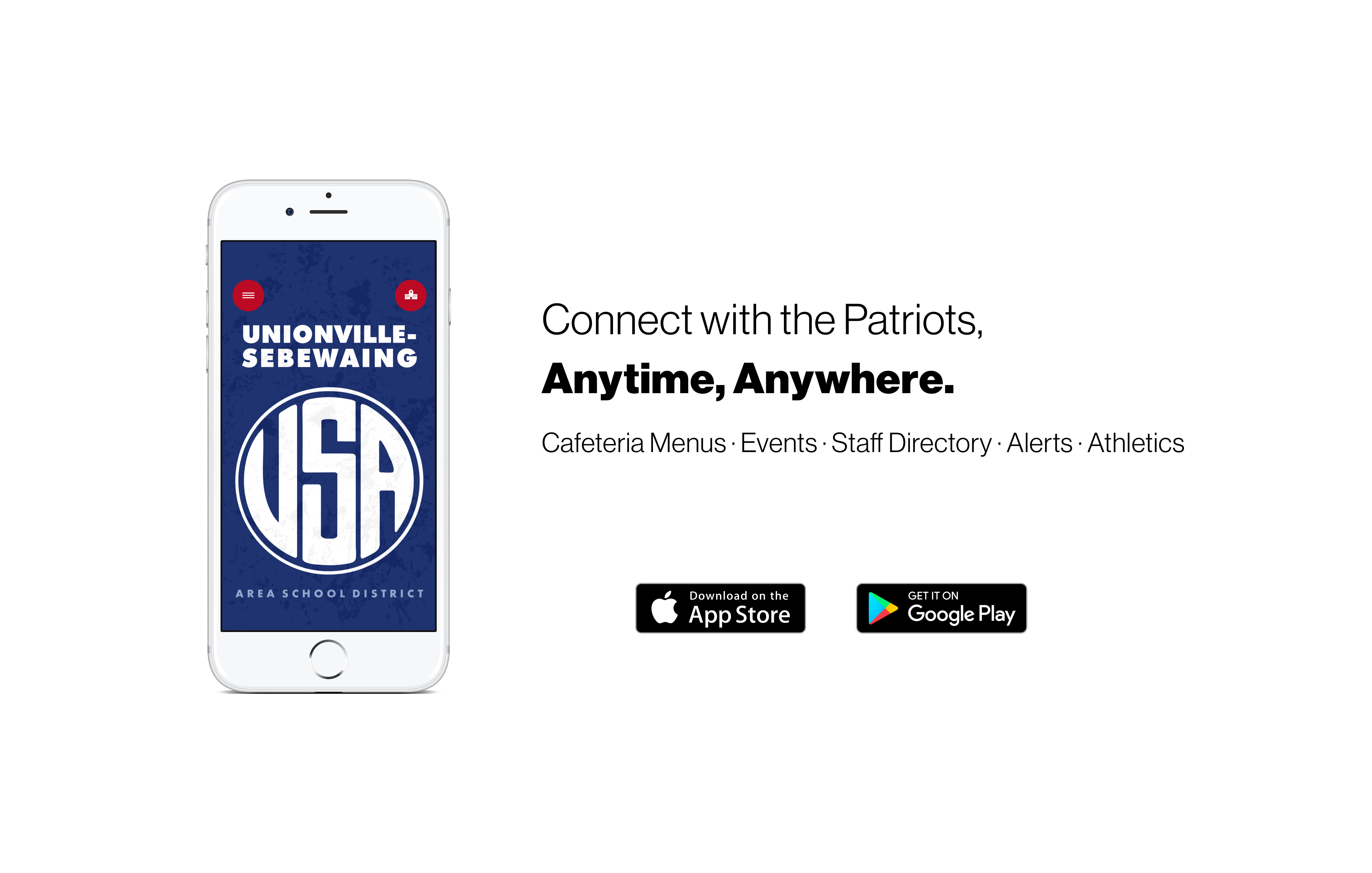 Connect with the Patriots, Anytime, Anywhere.