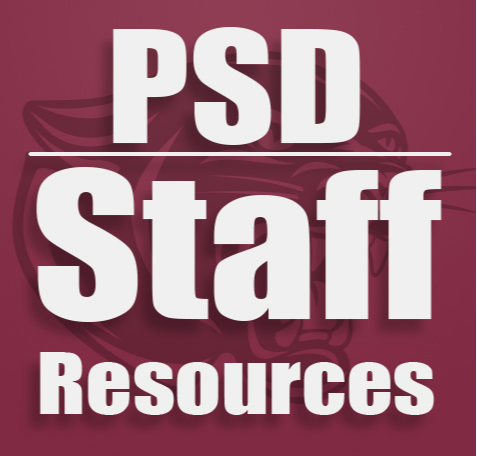 PSD Staff Only Resources