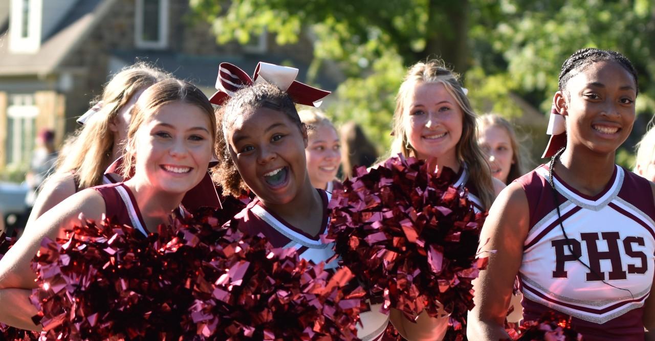 21-22 cheer parade
