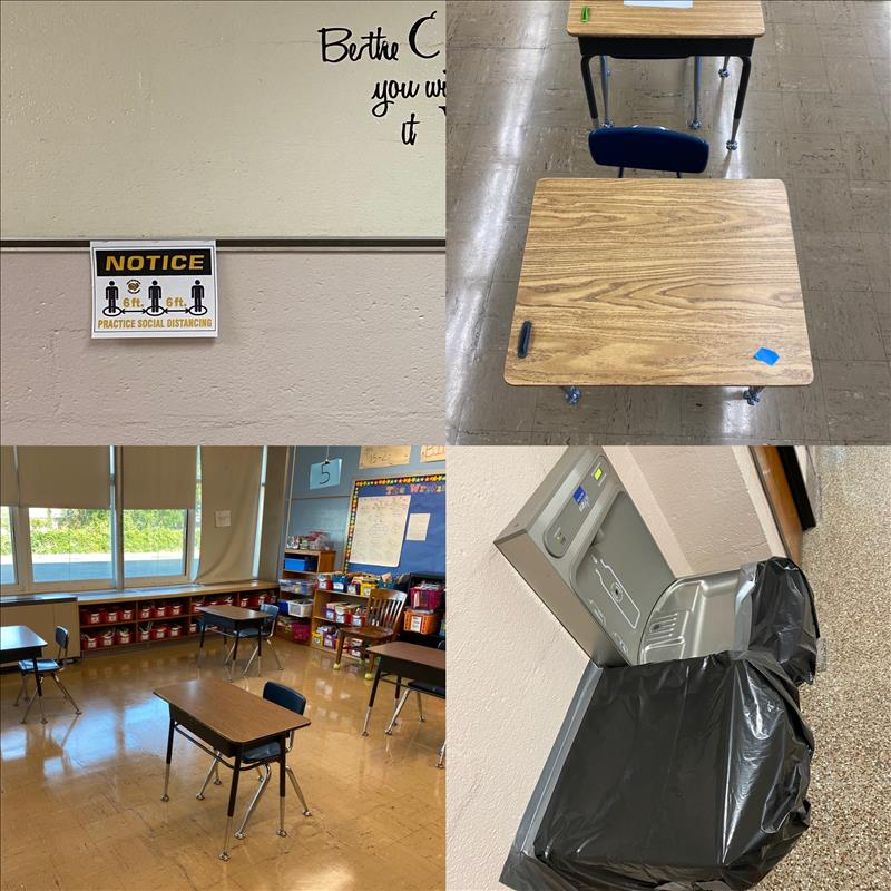 School Reopening Pictures