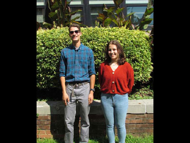 Andrew Shreck and Sofia Varone