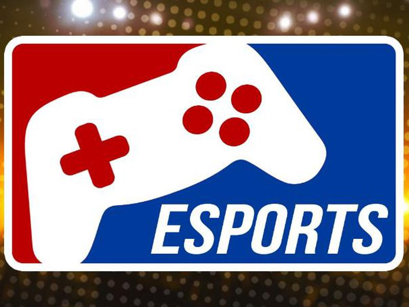 eSports Logo with gaming controller