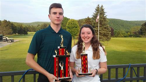 Award Winners: Jarrett Pond (Team MVP), and Haley Pond (Sportsmanship Award)