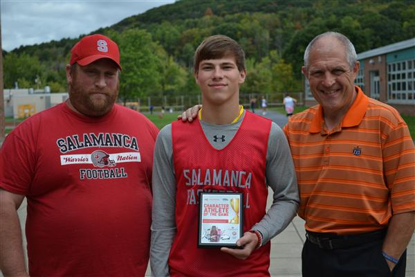 Tyler Hedlund - Character Athlete of the Game (Ellicottville)