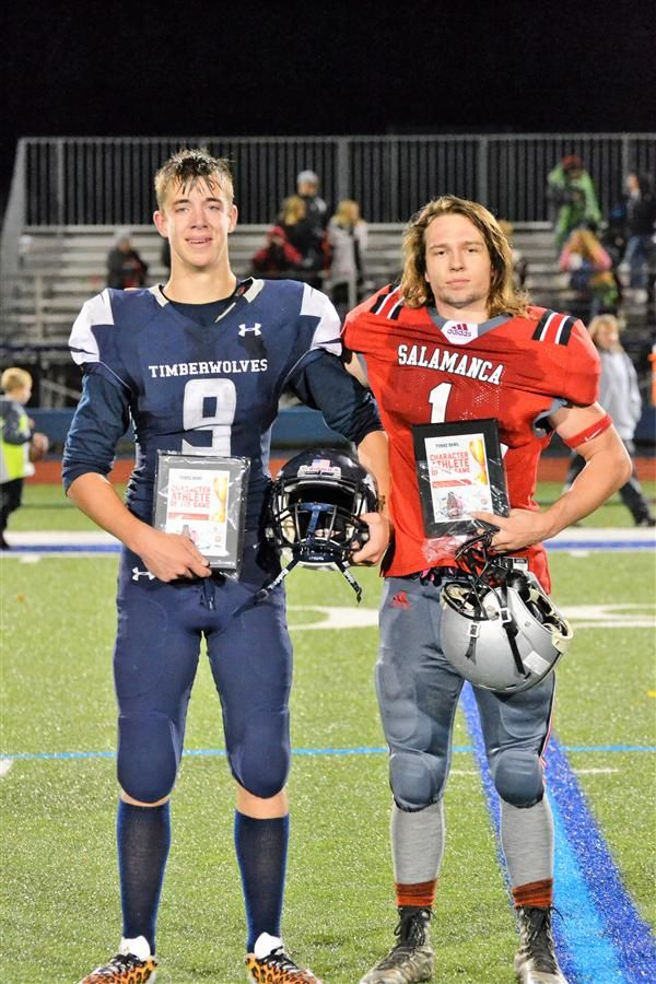 Jeremiah Shoup - Character Athlete of the Game (Catt/LV October 26, 2017)
