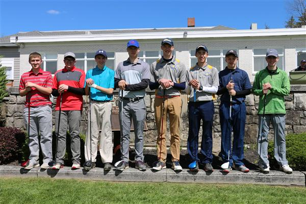 CCAA Division II East Sectional Qualifiers from Bartlett Country Club
