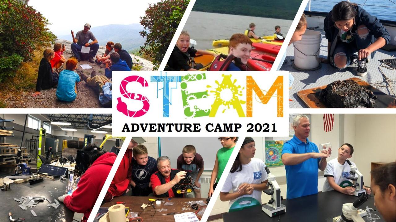 STEAM ADVENTURE CAMP 2021