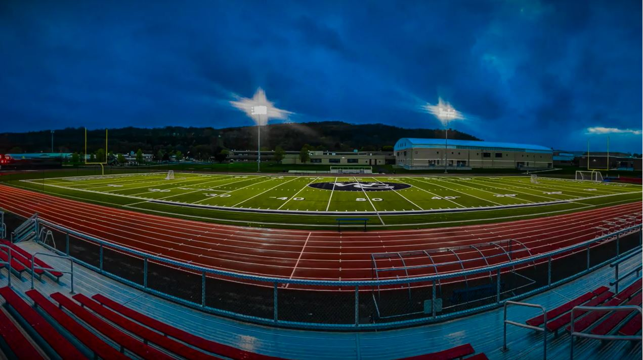 Athletic Field at Night