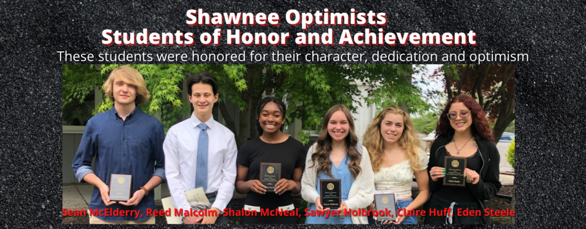 Shawnee Optimists, Students of Honor and Achievement